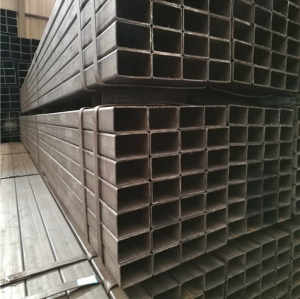 40x40 carbon steel tube price list square tube weight from YOUFA