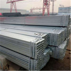 Q195 Q215 Q345 Hot Dipped Hot Rolled Square Rectangular Galvanized Steel Pipe