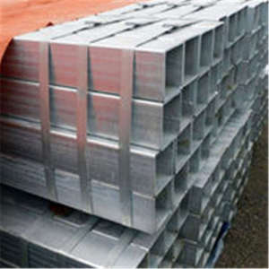 hot dipped Galvanized Rectangular Square Steel Pipe/Tube/Hollow Section/SHS / RHS