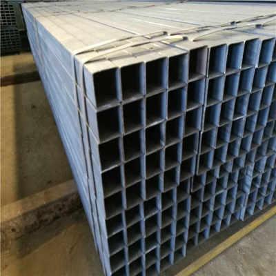 tubo cuadrado de sección de acero espesor de pared tubo cuadrado galvanizado de YOUFA
