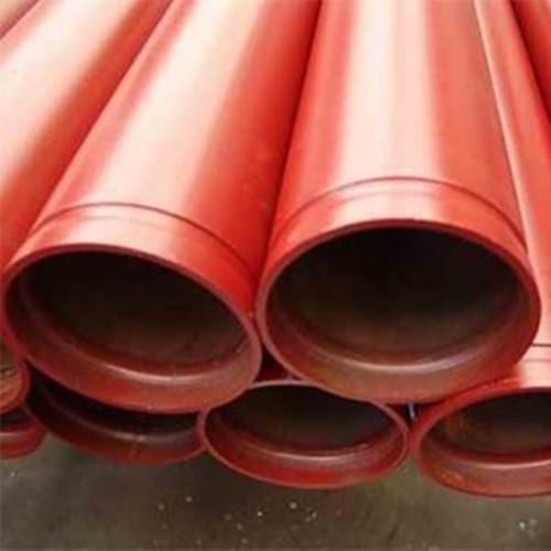 Tubo de acero con extremo ranurado para transferencia de agua de YOUFA