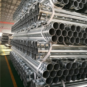 2.5inch 73mm , 3inch 88.9mm , 4inch 114.3mm Galvanized Pipe with Rolled Groove End