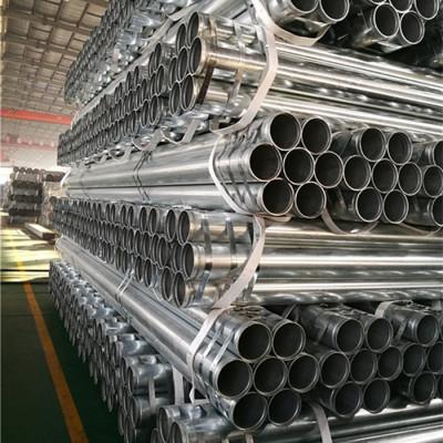 Tubo galvanizado de 3 pulgadas y 88,9 mm con extremo de ranura enrollada de YOUFA