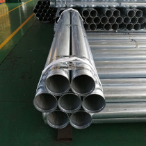 FM UL Listed 4 inch 114.3 mm Galvanized Pipe with Rolled Groove End for Water Transfer