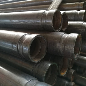 Black Steel Pipe with Rolled Groove End from 1/2