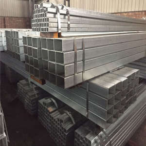 Construction Building Galvanized Carbon Mild Rectangular Steel Pipe
