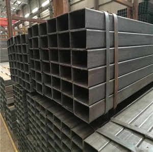 ASTM A500, ASTM A53/A106 G.B Rectangular Section Galvanized Hollow Steel Pipe