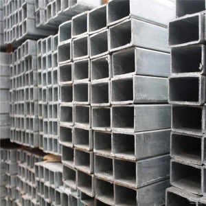 YOUFA manufacture Prime Quality SS400 Q195 Welded Square/Rectangular Steel Pipe