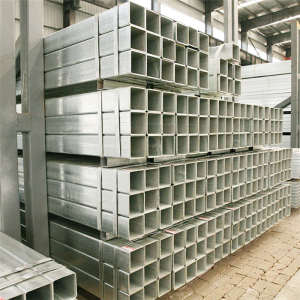 High Quality Galvanized Square Steel Pipe