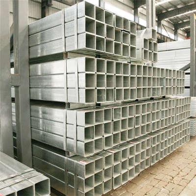 YOUFA fabrica tubos de acero cuadrado galvanizado en caliente