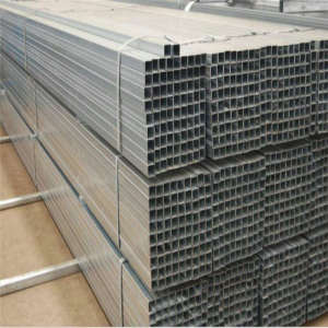 Q195/Q235/Q345 Galvanized Steel Pipe Black Rectangular Square Tube For Construction