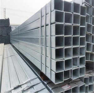 Structural Rectangular Profile Shape MS Steel Hollow Section Pipe