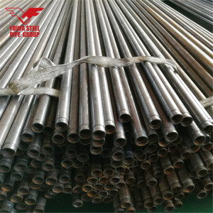 ERW Welded Carbon Steel Black Pipe with Groove End