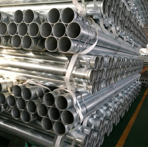 1.5 inch 2 inch 2.5inch 3inch 4inch ASTM A53 Galvanized Pipe with Groove End