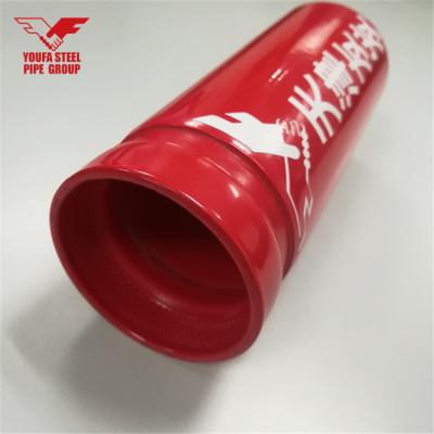 Especificación de tubería de rociadores contra incendios ASTM A53 ASTM A795 de YOUFA