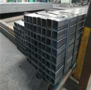 MS Welded Hot Rolled Black Carbon Square Rectangular Hollow Section Steel Pipe Tube