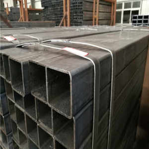 Building Material Q195/Q235 ERW Welded Square Structure Steel Pipe/Tube