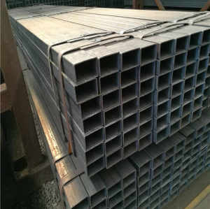 SS400 oiled black square steel tube