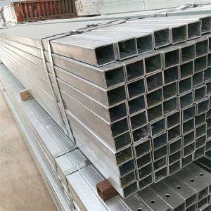 Поставщик из Китая s355 38x38 мм оцинкованная стальная квадратная стальная труба