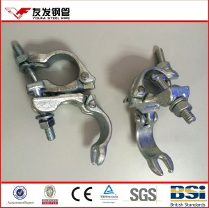adjustable fixed tube clamps for 1.5 inch scaffold tube