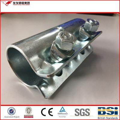 precio de la abrazadera de andamio de tipos de acopladores de superficie galvanizada