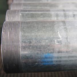 48.3mm EN39 المجلفن أنابيب الصلب السقالات مع الخيوط