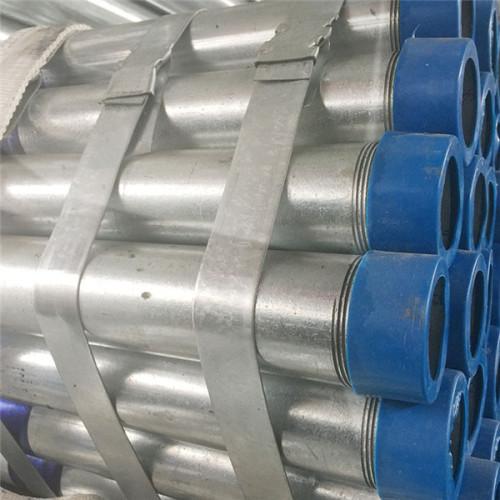 YOUFA BS 1387 extremos roscados de tubo de acero redondo galvanizado en caliente