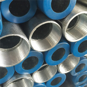 Threaded Hot dip galvanized carbon welded steel pipes from Tianjin YOUFA