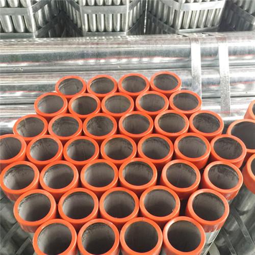 Tuberías de acero soldadas al carbono galvanizadas en caliente roscadas de YOUFA