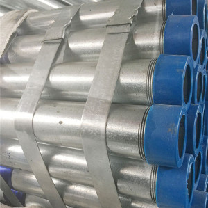 YOUFA factory inside threaded hot dip galvanized steel pipe for greenhouse