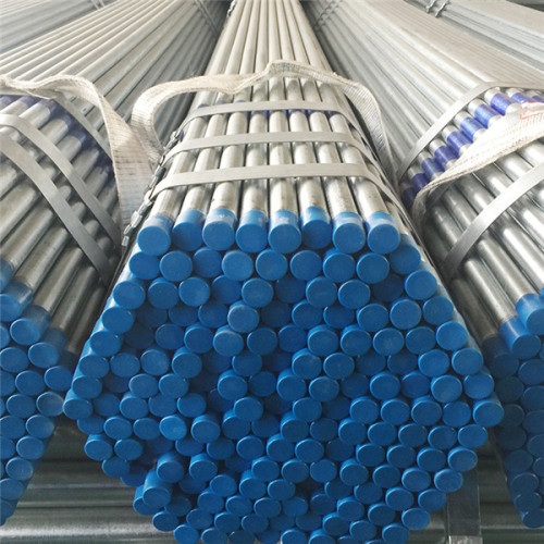horario de tubería de conducto gi 40 tubería de acero galvanizado para invernadero