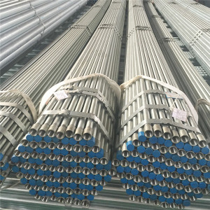 schedule 40 galvanized iron round pipe price from Youfa factory