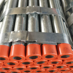 YOUFA factory 5 inch galvanized steel round pipe with threaded ends