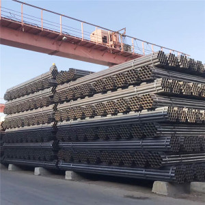 YOUFA construction pipe black erw steel pipe welded steel pipe