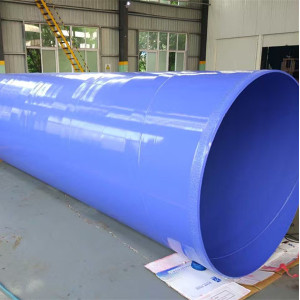 API 5L standard X52 SAW welded steel pipes