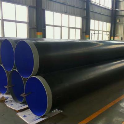Precio de tubería soldada en espiral API 5L Grado X70 para tubería de agua / gas / aceite