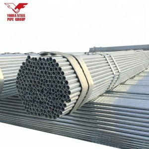 ASTM A106 GR.B GALVANIZED SEAMLESS STEEL PIPE
