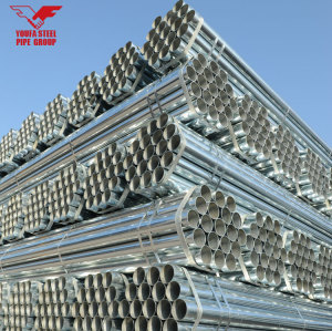 MS ERW SCHEDULE 80 GALVANIZED STEEL GREENHOUSE PIPE