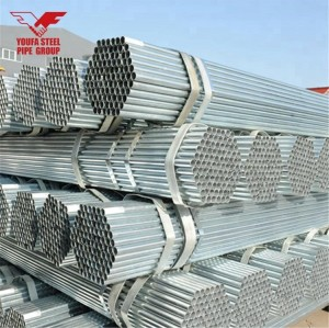 BS1139 sch40 gi steel pipe price list 48.6mm