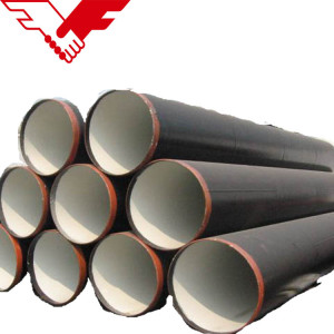 YOUFA Brand 3PE coated SSAW Spiral welded steel pipes for water