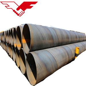 YOUFA SSAW spiral welding steel pipes for construction piling pipe