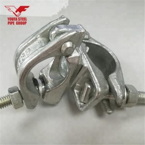 YOUFA group galvanized scaffold tube fittings pipe clamp for scaffolding