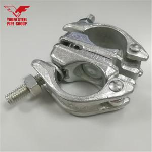 Tianjin Youfa Brand BS/JIS Standard Pressed Scaffolding Swivel Clamp