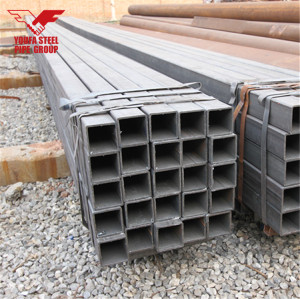 YOUFA manufacture 2x2 steel section square tubing price wall thickness