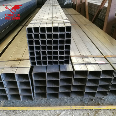 YOUFA Q195/Q235 ERW Welded Square Structure Steel Pipe/Tube