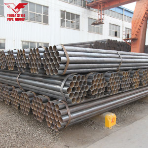 YOUFA brand 2 inch round black iron pipe tube for construction