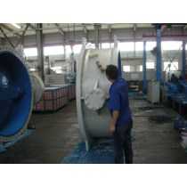 Rubber lined double eccentric  butterfly valve for water\oil\gas