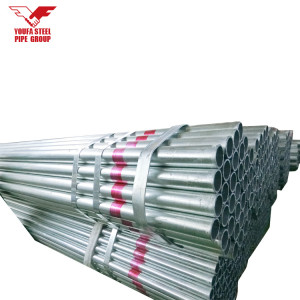 سعر المصنع أنابيب الحديد المجلفن من YOUFA