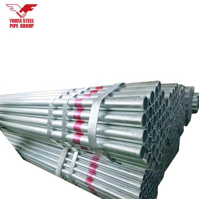 Q345B espesor de 2 mm a 6 mm de tubo de acero galvanizado