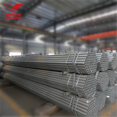 Tianjin Youfa factory round steel gi pipe price hot dipped galvanized steel pipe for greenhouse